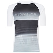 Asymmetrical Dynamic Rashguard - White