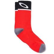 Cycling Socks - Red Line