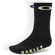 Socks Oakley Ellipse (2 Pcs Pack) - Blackout