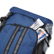 Utility Organizing Backpack - Dark Blue Reflective