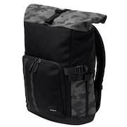 Utility Rolled Up Backpack - Blackout Reflective