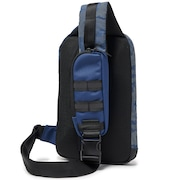 Utility One Shoulder Bag - Dark Blue Reflective