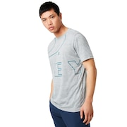Enhance Technical Qd Tee.19.02 - Light Heather Gray
