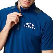 Enhance Short Sleeve Mock 9.0 - Dark Blue