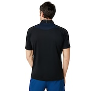 Enhance Short Sleeve Mock 9.0 - Blackout