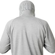 Enhance Technical Fleece Jacket.Grid 9.0 - Light Heather Gray