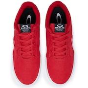 Oakley Canvas Flyer Sneaker - Red Line