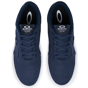 Oakley Canvas Flyer Sneaker - Dark Blue