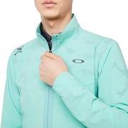 Skull Breathable Jacket 2.0 - Aqua Green
