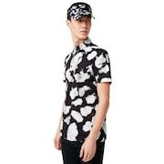 Skull Mottle Shirts - Black Print