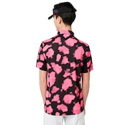 Skull Mottle Shirts - Black Geo Print