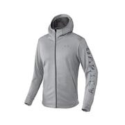 Enhance Technical Fleece Jacket.Qd 9.0 - Light Heather Gray