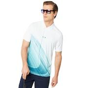 Exploded Ellipse Golf Polo Short Sleeve