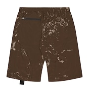 Rock Print Short - Light Brown