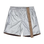 Metallic Short - Silver
