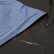 Skydiver Zipped Long Sleeves Tee - Brown