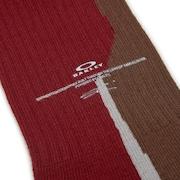 Wood Shapes'S Socks - Brown