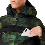 Black Forest Shell 3L 15K Jacket - Geo Camo P.