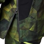 Black Forest Shell 3L 15K Jacket - Geo Camo P.
