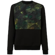 Jazz Hands Dwr Crew Neck - Geo Camo