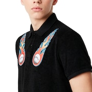 Tnp Lighting Bolt Polo Short Sleeve - Blackout