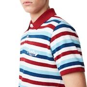 Tnp Striped Polo Short Sleeve - Stripe Sundried