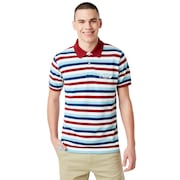 Tnp Striped Polo Short Sleeve