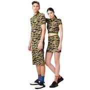 Tnp Camou Polo Short Sleeve - Tiger Camo