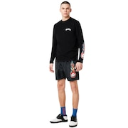 Tnp Lighting Bolt T-Shirt Long Sleeve - Blackout
