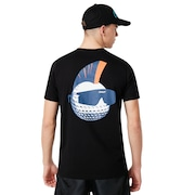 Tnp Golf Ball T-Shirt Short Sleeve - Blackout
