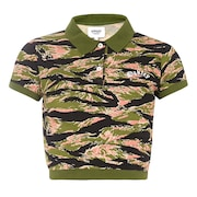 Tnp Camou Polo Short Sleeve - Tiger Camo