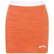 Tnp Chenille Skirt Short Sleeve - Dark Orange