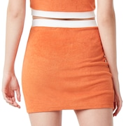 Tnp Chenille Skirt Short Sleeve - Dark Orange