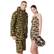 Tnp Chenille Camou Dress Short Sleeve - Tiger Camo
