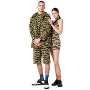 Tnp Chenille Camou Dress Short Sleeve - Tiger Camo