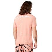 Staple Graffiti T-Shirt Short Sleeve - Blooming Dahlia