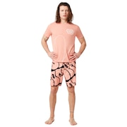 Staple Graffiti Boardshort 18 Inc - Blooming Dahlia
