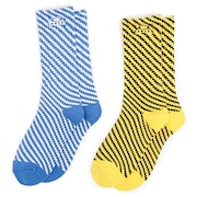 Oakley Pattern Socks (Pack 2) - White