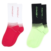 Socks Oakley Stretch (Pack 2) - White