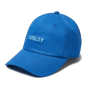 6 Panel Japanese Logo Hat - Matrix Blue