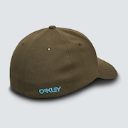 6 Panel Stretch Hat Embossed - New Dark Brush