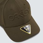 6 Panel Stretch Hat Embossed - New Dark Brush