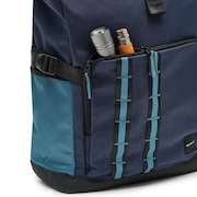 Utility Rolled Up Backpack - Foggy Blue