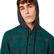 Icon Hooded Shirt - Planet