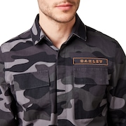 Icon Cargo Shirt - Gray Camou