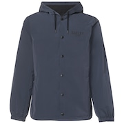 75 Hoodie Coach Jacket - Foggy Blue
