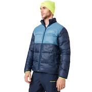Puffer Jacket - Foggy Blue