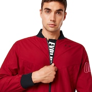 Enhance Wind Warm Mil Jacket - Raspberry