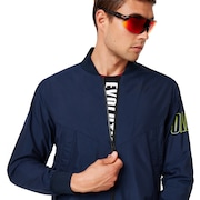 Enhance Wind Warm Mil Jacket - Foggy Blue