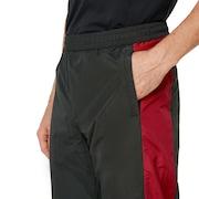 Nylon Track Pant - Dull Onyx